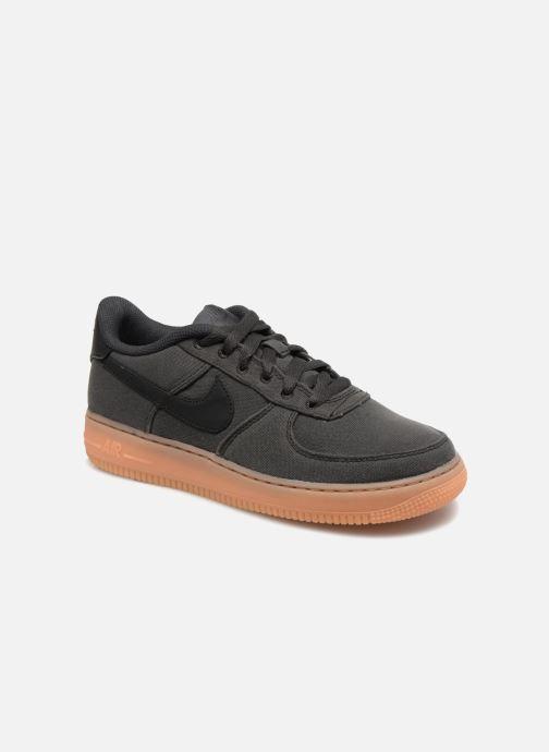 huge discount b1dca d0668 Baskets Nike Air Force 1 Lv8 Style (Gs) Noir vue détail paire