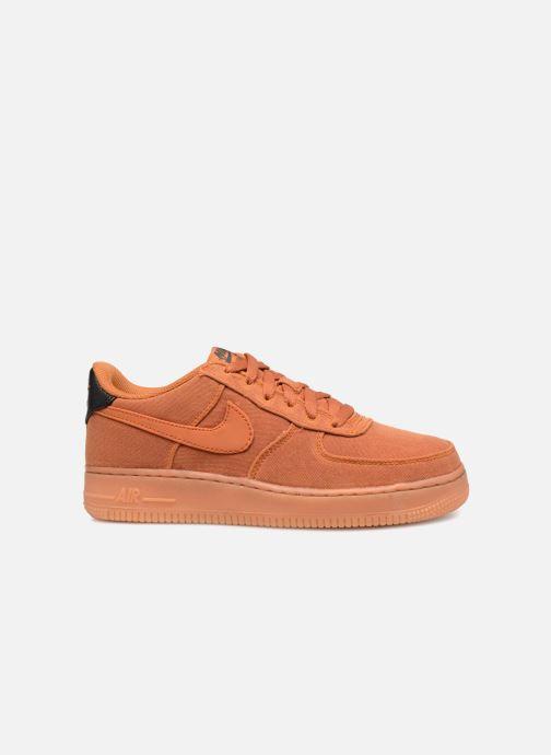 Sneaker Nike Air Force 1 Lv8 Style (Gs) orange ansicht von hinten