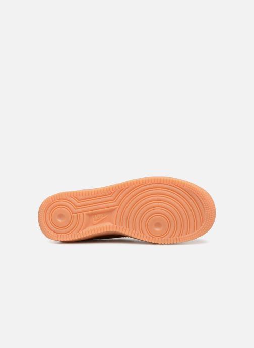 Sneaker Nike Air Force 1 Lv8 Style (Gs) orange ansicht von oben
