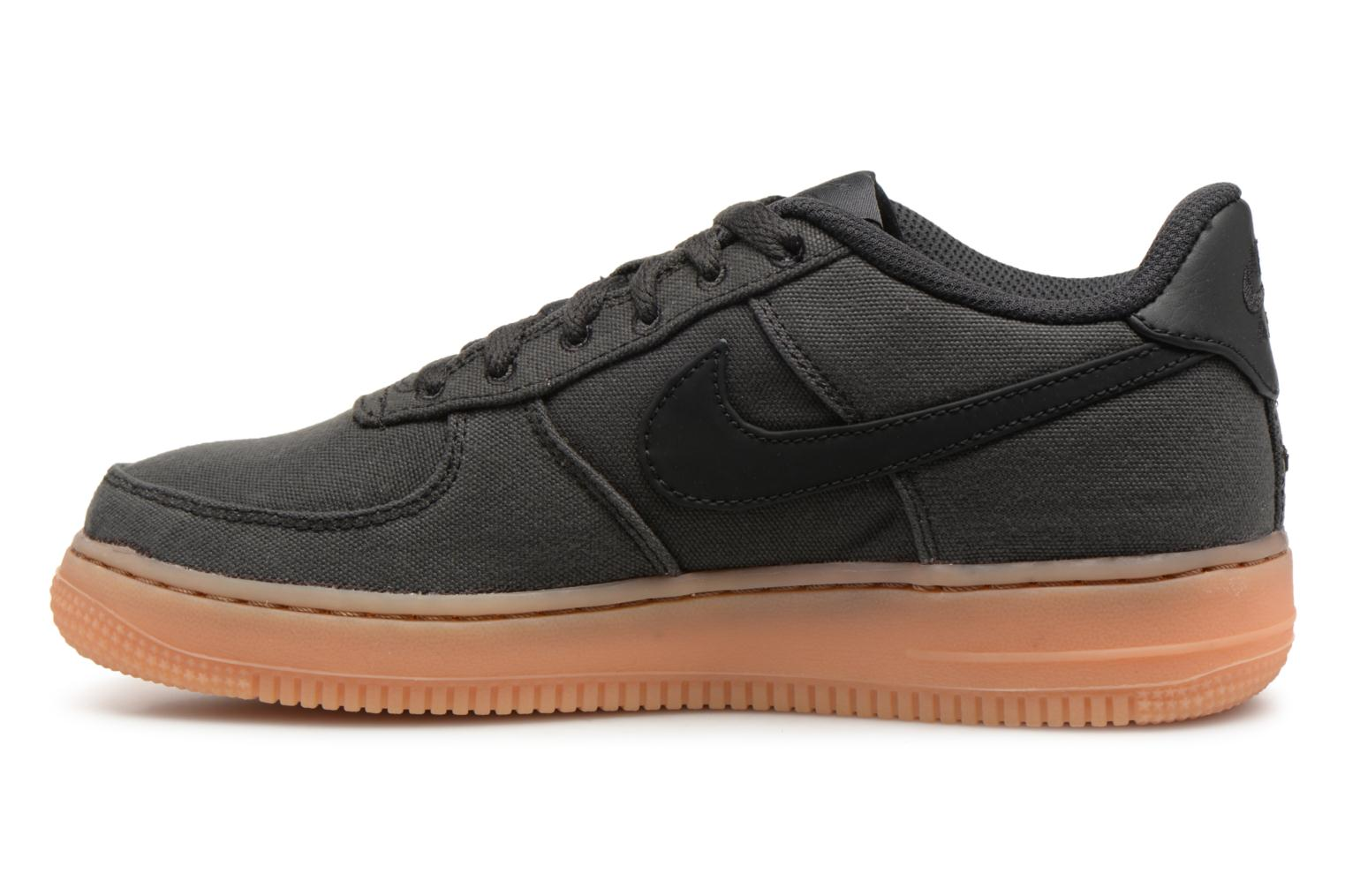Baskets Nike Air Force 1 Lv8 Style (Gs) Noir vue face