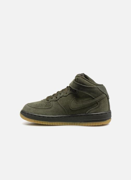 Baskets Nike Air Force 1 Mid LV8 (PS) Vert vue face