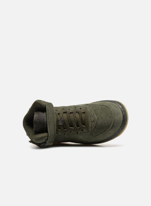 Baskets Nike Air Force 1 Mid LV8 (PS) Vert vue gauche