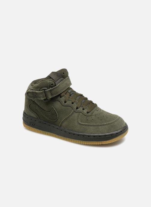 Baskets Nike Air Force 1 Mid LV8 (PS) Vert vue détail/paire