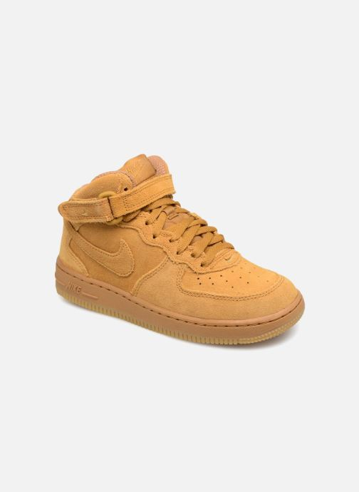Baskets Nike Air Force 1 Mid LV8 (PS) Marron vue détail/paire