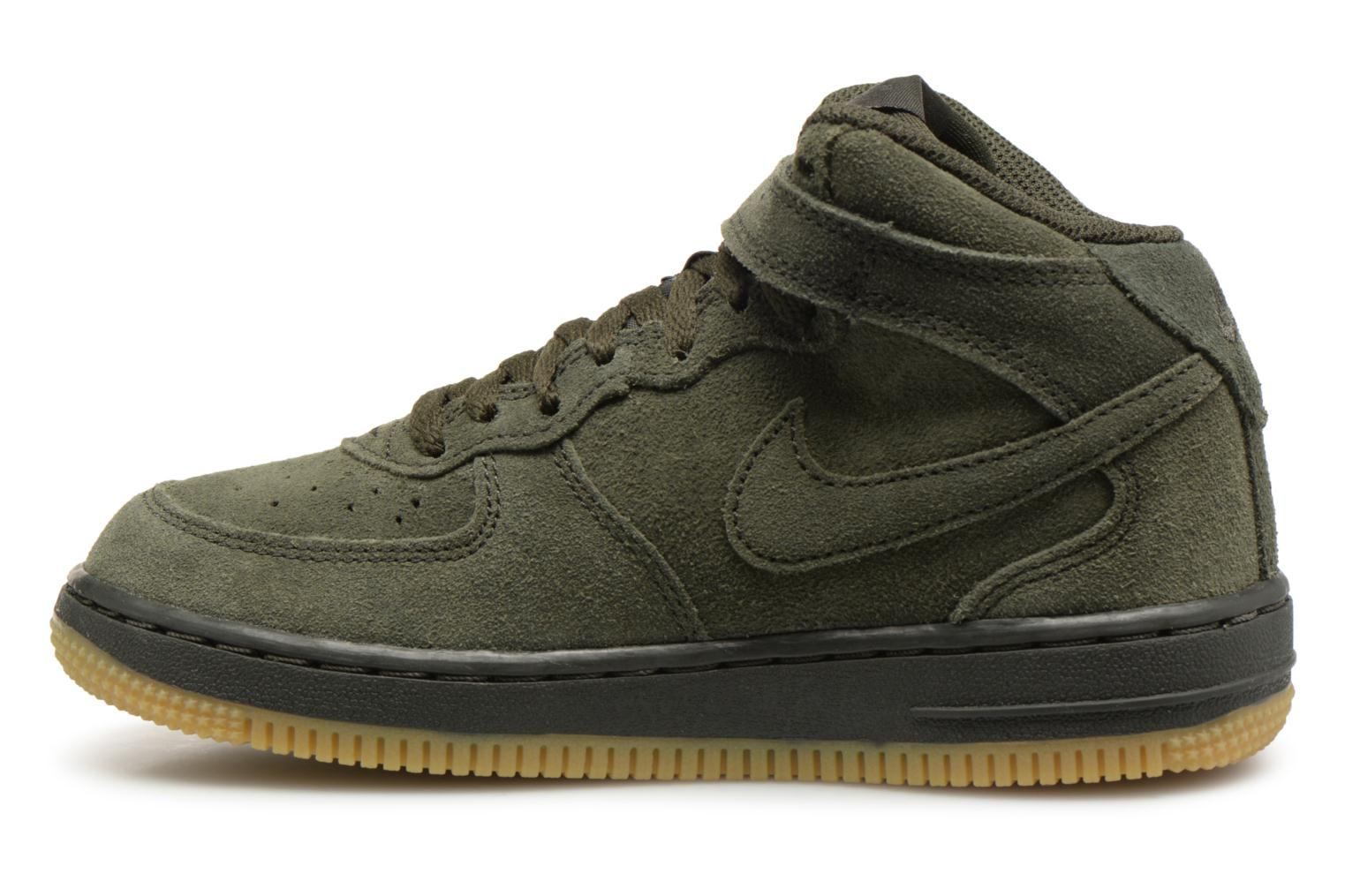 Sneakers Nike Air Force 1 Mid LV8 (PS) Verde immagine frontale