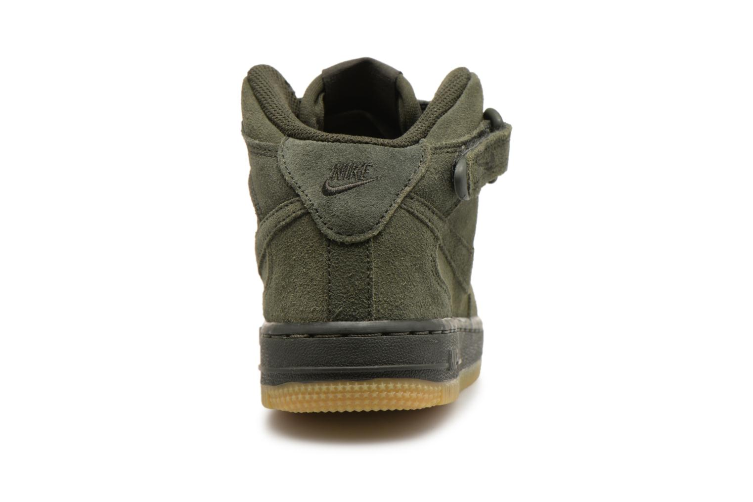 Sneakers Nike Air Force 1 Mid LV8 (PS) Verde immagine destra