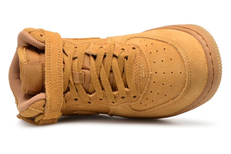 Baskets Nike Air Force 1 Mid LV8 (PS) Marron vue gauche