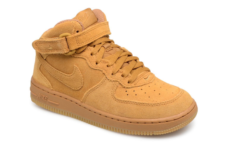 Baskets Nike Air Force 1 Mid LV8 (PS) Marron vue détail/paire