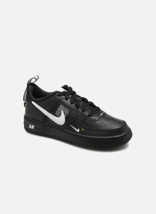 sports shoes 58fe9 d715d Sneakers Nike Air Force 1 LV8 Utility Svart detaljerad bild på paret