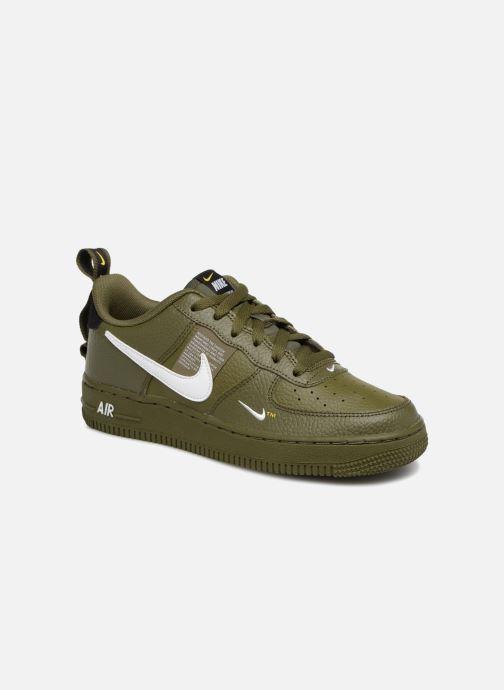 timeless design 67437 87f84 Baskets Nike Air Force 1 LV8 Utility Vert vue détail paire