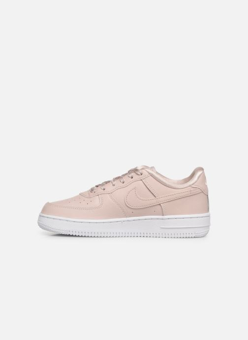 Baskets Nike Air Force 1 SS (Ps) Rose vue face