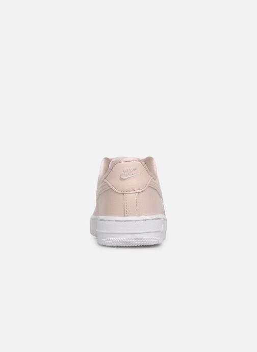 Trainers Nike Air Force 1 SS (Ps) Pink view from the right