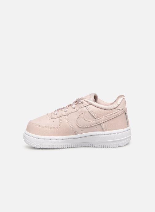 Sneakers Nike Air Force 1 SS (Td) Roze voorkant
