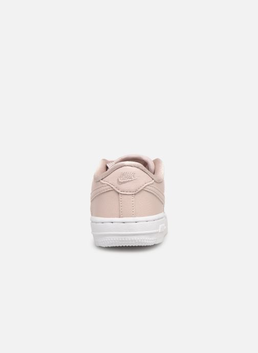 Trainers Nike Air Force 1 SS (Td) Pink view from the right