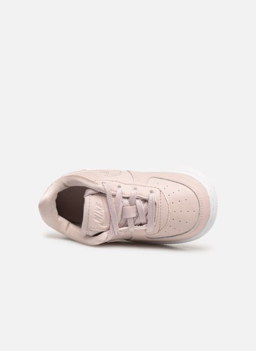 Sneaker Nike Air Force 1 SS (Td) rosa ansicht von links