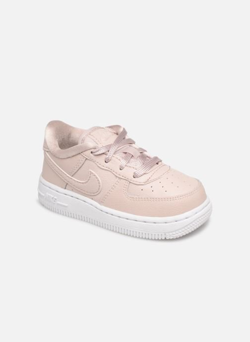 Trainers Nike Air Force 1 SS (Td) Pink detailed view/ Pair view