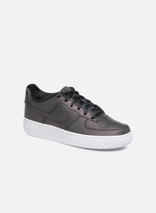 sports shoes e579a b1502 Baskets Nike Air Force 1 SS (Gs) Noir vue détail paire