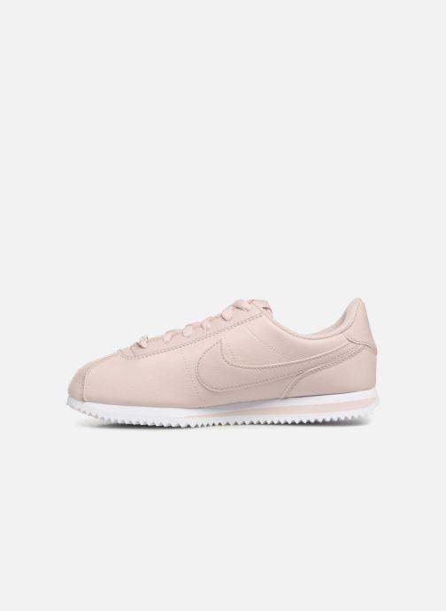 Deportivas Nike Cortez Basic Sl SS (Gs) Rosa vista de frente