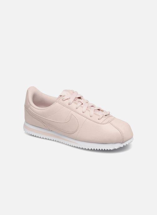 Deportivas Nike Cortez Basic Sl SS (Gs) Rosa vista de detalle / par