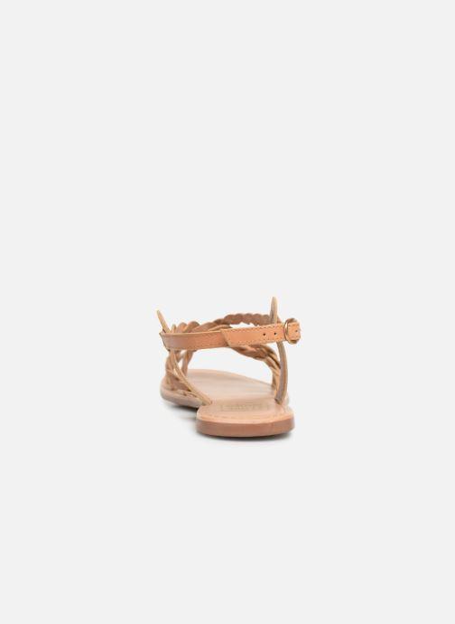Sandales et nu-pieds I Love Shoes KEBRAID Leather Marron vue droite