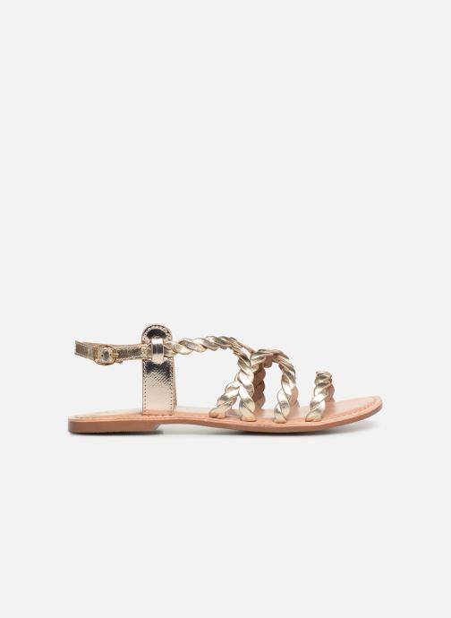 Sandales et nu-pieds I Love Shoes KEBRAID Leather Or et bronze vue derrière