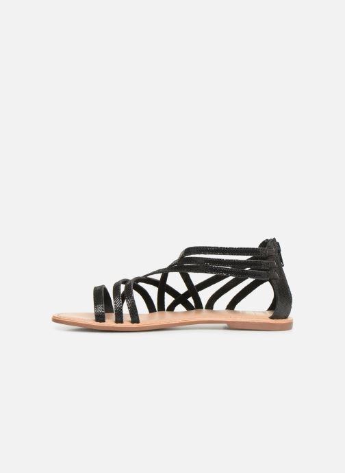 Sandales et nu-pieds I Love Shoes KEDRAP Leather Noir vue face