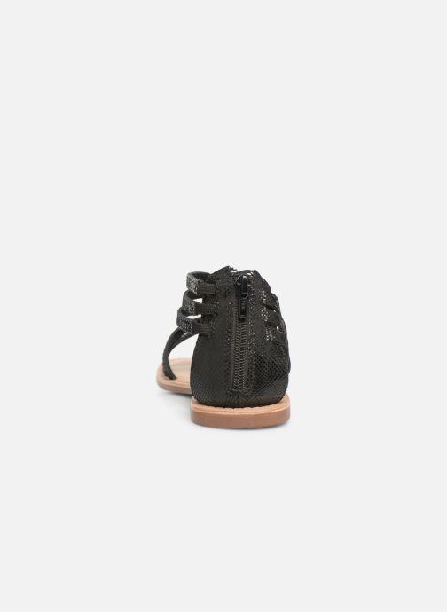 Sandalias I Love Shoes KEDRAP Leather Negro vista lateral derecha