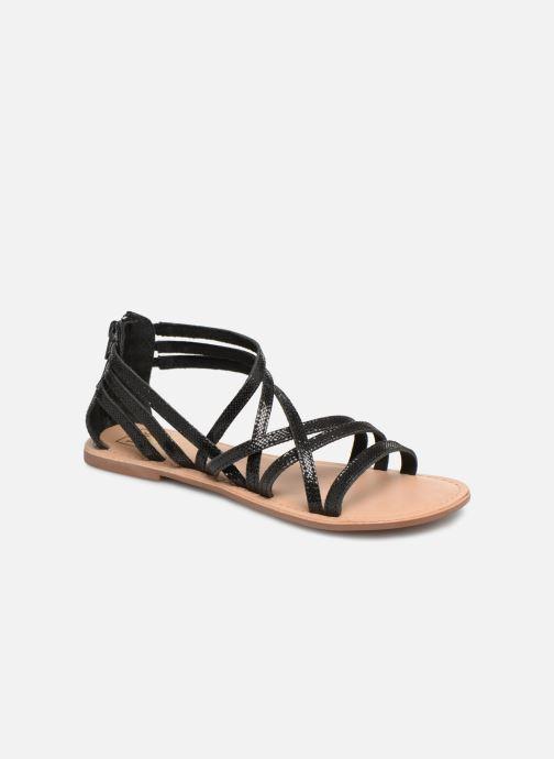 Sandales et nu-pieds I Love Shoes KEDRAP Leather Noir vue détail/paire