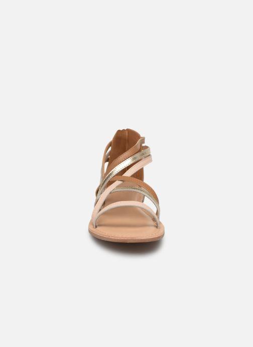 Sandalen I Love Shoes KEDRAP Leather braun schuhe getragen