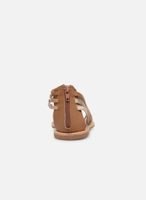 Sandales et nu-pieds I Love Shoes KEDRAP Leather Marron vue droite