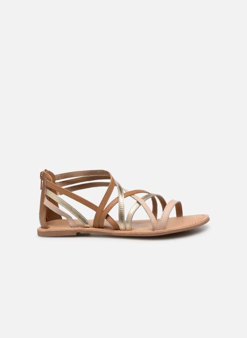 Sandales et nu-pieds I Love Shoes KEDRAP Leather Marron vue derrière