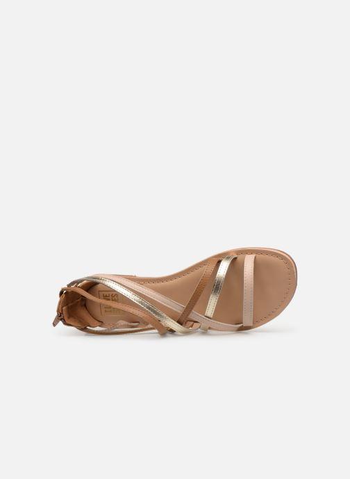 Sandales et nu-pieds I Love Shoes KEDRAP Leather Marron vue gauche