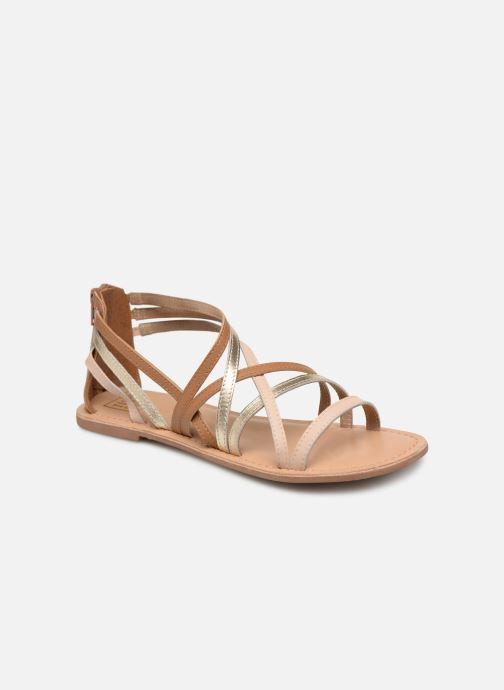 Sandalen I Love Shoes KEDRAP Leather Bruin detail
