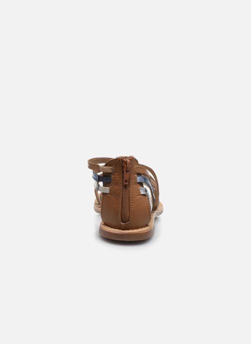 Sandales et nu-pieds I Love Shoes KEDRAP Leather Multicolore vue droite