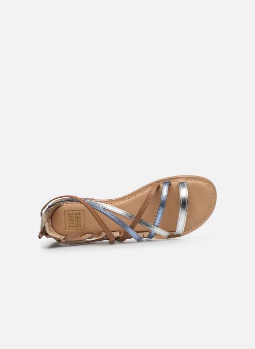 Sandales et nu-pieds I Love Shoes KEDRAP Leather Multicolore vue gauche