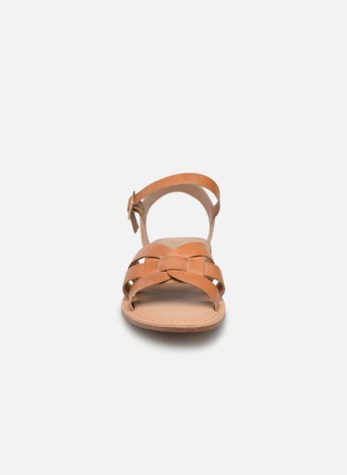 Sandales et nu-pieds I Love Shoes KESUN Leather Marron vue portées chaussures