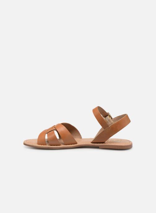 Sandales et nu-pieds I Love Shoes KESUN Leather Marron vue face