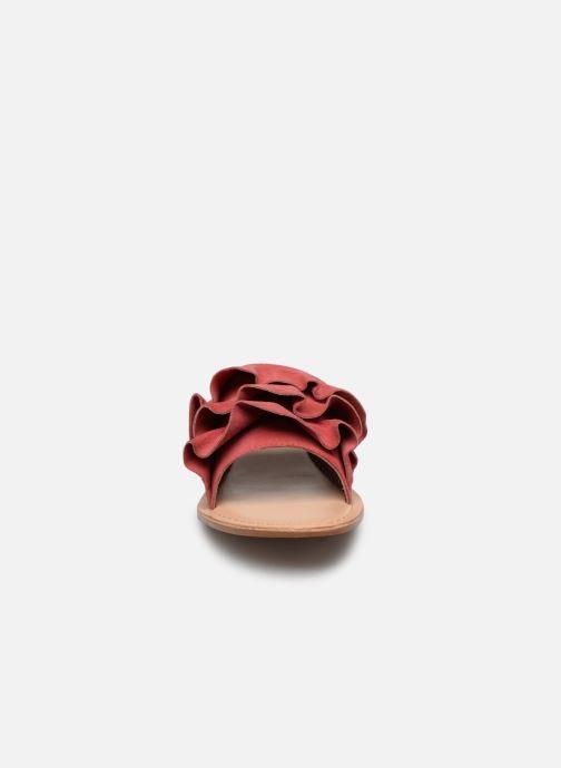 Mules et sabots I Love Shoes KEVOL Leather Rose vue portées chaussures