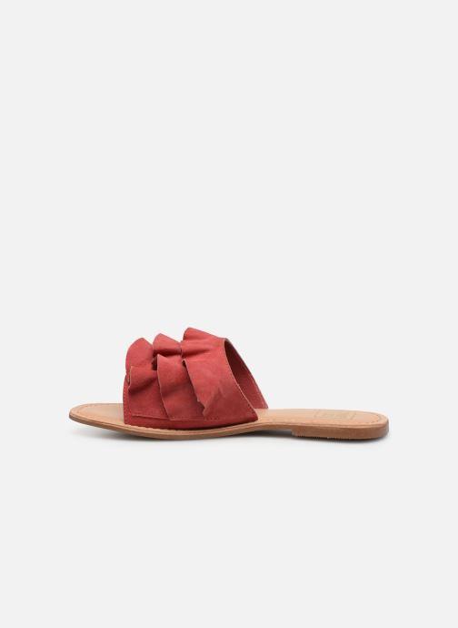 Mules et sabots I Love Shoes KEVOL Leather Rose vue face
