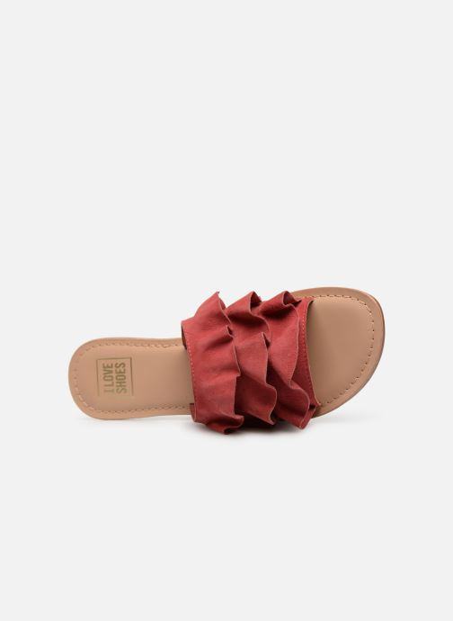 Mules et sabots I Love Shoes KEVOL Leather Rose vue gauche