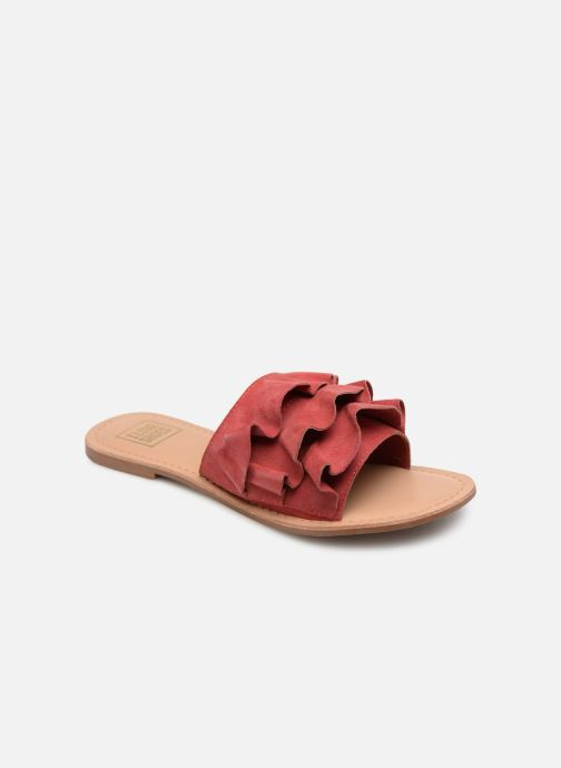 Zuecos I Love Shoes KEVOL Leather Rosa vista de detalle / par