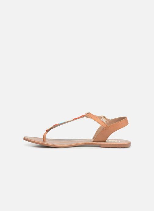 Sandales et nu-pieds I Love Shoes KEPERLA Leather Marron vue face