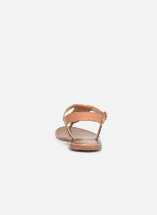 Sandales et nu-pieds I Love Shoes KEPERLA Leather Marron vue droite