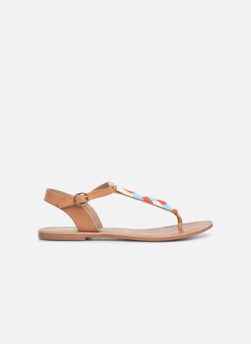 Sandales et nu-pieds I Love Shoes KEPERLA Leather Marron vue derrière