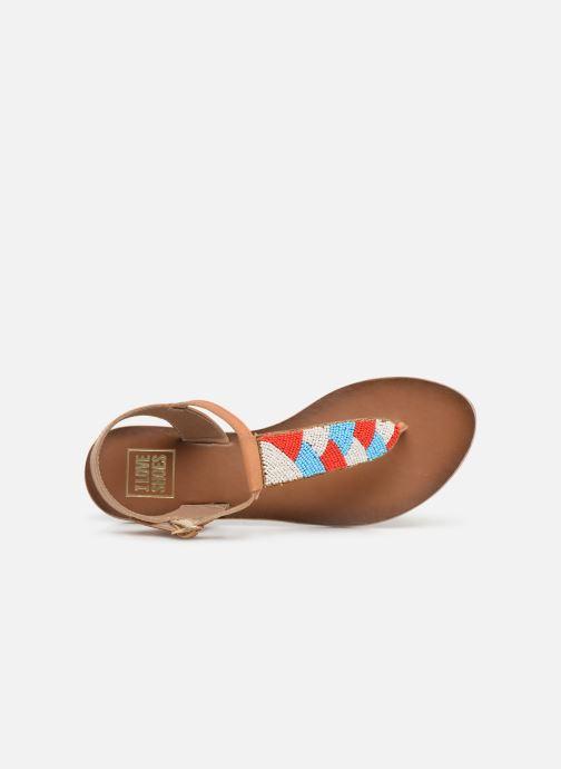 Sandalen I Love Shoes KEPERLA Leather Bruin links