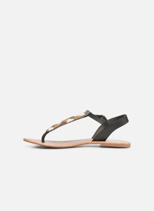 Sandales et nu-pieds I Love Shoes KEPERLA Leather Noir vue face