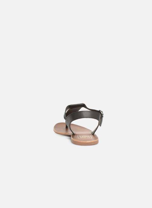 Sandalias I Love Shoes KEPERLA Leather Negro vista lateral derecha