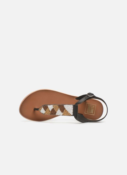 Sandali e scarpe aperte I Love Shoes KEPERLA Leather Nero immagine sinistra