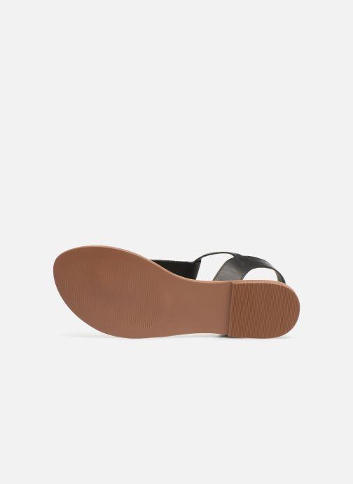 Sandales et nu-pieds I Love Shoes KEPERLA Leather Noir vue haut