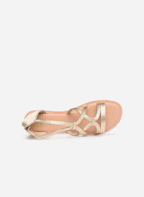 Sandali e scarpe aperte I Love Shoes KEVESTAL Leather Oro e bronzo immagine sinistra